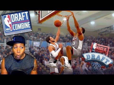 NBA Live 18 The One - DRAFT NIGHT & An Impossible LAYUP! (видео)