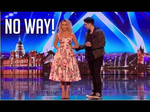 You Won't BELIEVE What This Magician Did To Amanda | Britain's Got Talent 2018