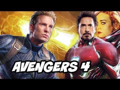 Avengers 4 Captain America Scenes Explained by Chris Evans