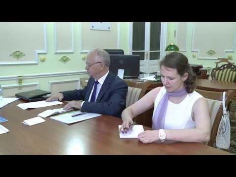 Președintele Igor Dodon a avut o întrevedere cu Ambasadorul Extraordinar şi Plenipotenţiar al Federației Ruse în Republica Moldova, Farit Muhametşin