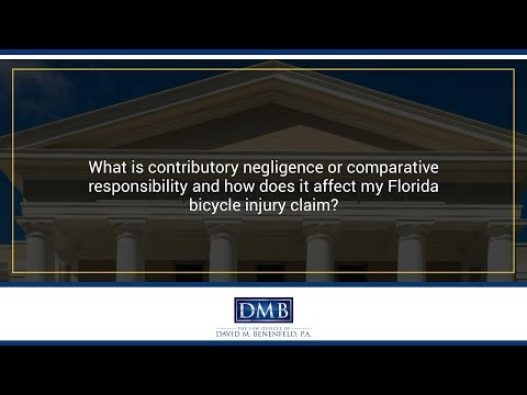 What is contributory negligence or comparative responsibility and how does it affect my...