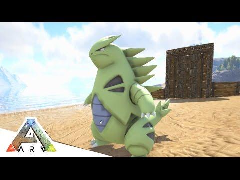 TYRANITAR IS A BEAST! - ARK SURVIVAL EVOLVED POKEMON MOD #7 (видео)