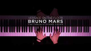 Video Bruno Mars - Versace On The Floor | The Theorist PIano Cover download in MP3, 3GP, MP4, WEBM, AVI, FLV Februari 2017