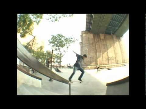 The New LES Skatepark Montage NYC  2012