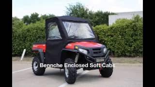 8. Enclosed Soft Cabs for Bennche/Massimo SXS