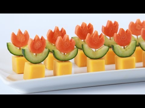 Mario - Today I made Super Mario Fire Flower Veggie Appetizers with my friend Michael from Vsauce! I really enjoy making nerdy themed goodies and decorating them. I'...