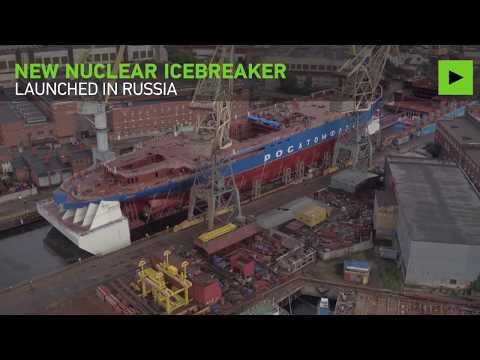 Το πρώτο ρωσικό πυρηνοκίνητο παγοθραυστικό Sibir