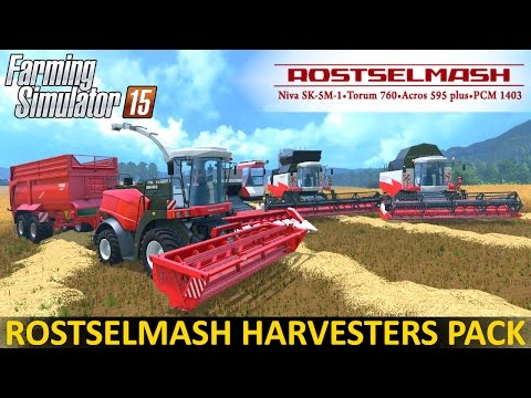 Rostselmash Vector 420 v1.0