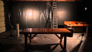 Studio Renovations - 2nd Wall Spackling Timelapse