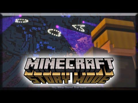 Minecraft Story Mode #13 - Min gris... (видео)
