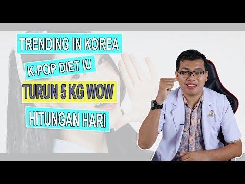 Diet Seminggu Turun 5 Kg, Ala IU Artis Korea