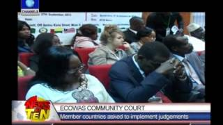 ECOWAS Parliament Meets To Strengthen Community Law