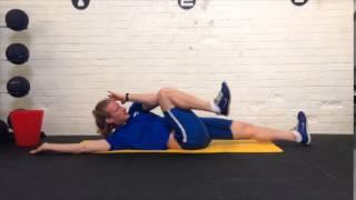【体の強靭な締めを作る】体幹トレーニング「ハードロール」