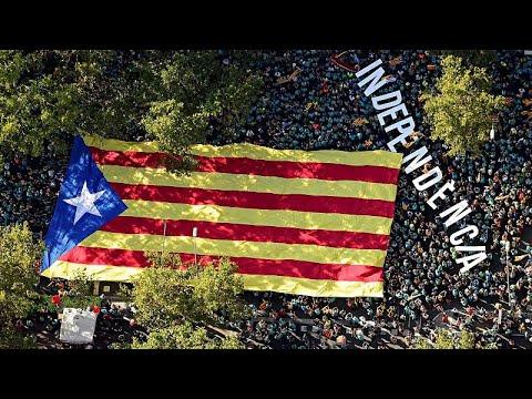 Spanien: 600.000 Katalanen demonstrieren für die Absp ...