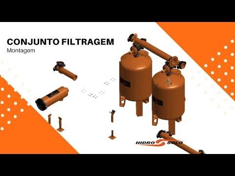 Hidro Solo - Montagem - Conjunto Filtragem