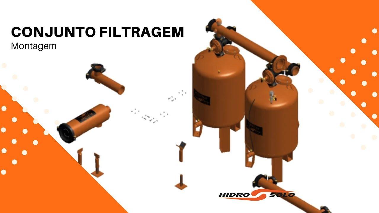 Installation - Filtering system Hidro Solo