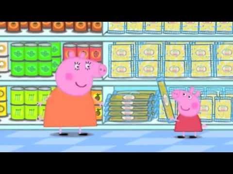 Peppa pig arabic Shopping التسوق
