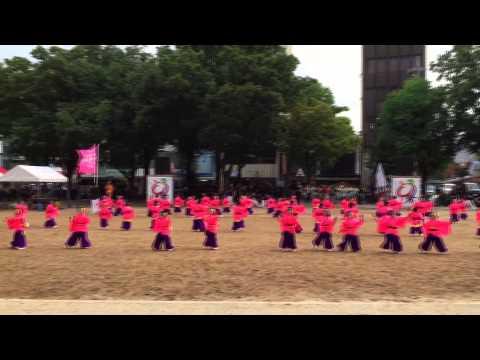 2015日本ど真ん中祭り どまつり 昭和保育園