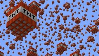 Spawning TNT Every 1,000 Blocks in Minecraft UHC