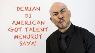 Video Demian Aditya American Got Talent menurut Deddy Corbuzier MP3, 3GP, MP4, WEBM, AVI, FLV Juli 2018