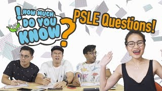 Video How Much Do You Know - PSLE Questions MP3, 3GP, MP4, WEBM, AVI, FLV Desember 2018