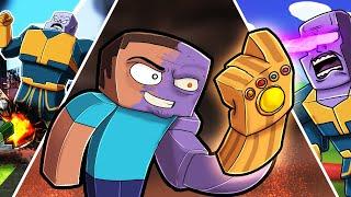 Play THANOS in Minecraft! (Infinity Gauntlet Mod)