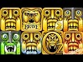 TEMPLE RUN 2 vs TEMPLE RUN BRAVE vs TEMPLE RUN OZ Android iOS