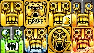 Video TEMPLE RUN 2 vs TEMPLE RUN BRAVE vs TEMPLE RUN OZ Android iOS MP3, 3GP, MP4, WEBM, AVI, FLV Mei 2017