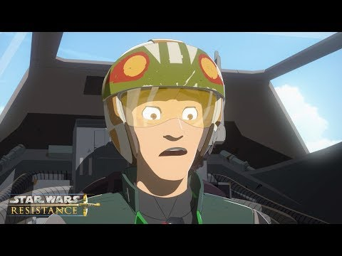 The Rematch | Star Wars Resistance | Disney Channel