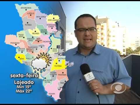 Vídeo Previsão do Tempo 01 10 2015
