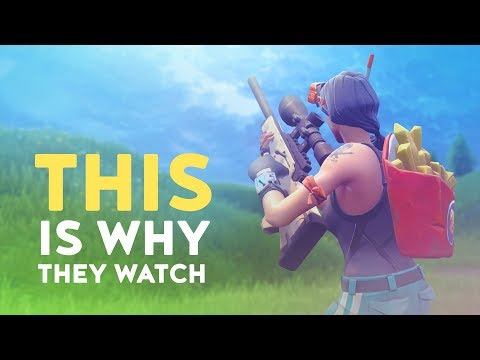 THIS IS WHY THEY WATCH THE STREAMS! (Fortnite Battle Royale)