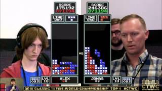 Video Top 4 - Alex Kerr vs. Jonas Neubauer - Classic Tetris World Championship 2015 MP3, 3GP, MP4, WEBM, AVI, FLV Juni 2018