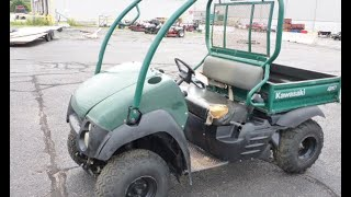 7. 2007 Kawasaki Mule | For Sale | Online Auction
