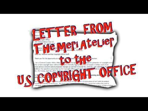 Letter to the U.S. Copyright Office