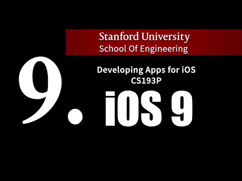 Stanford IOS 9 - Lecture 9. Table…
