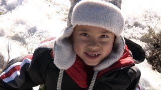 EvanTubeHD SNOW TRIP (Day 1) - Snow Park & Sledding on EvanTubeRAW!