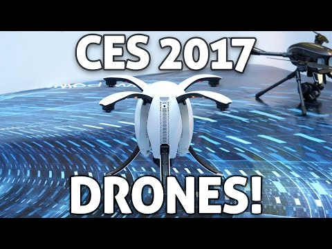 CES 2017: NEW DRONES!! Crazy Cool to Fun and Unique!
