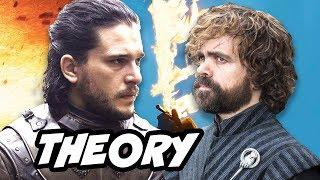 Game Of Thrones Season 8 Jon Snow Tyrion Theory
