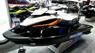 3. 2013 Sea-Doo RXT 260 Ultra Performance Jet Ski - Walkaround - 2013 Montreal Boat Show