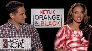 OITNB's Dasha Polanco & Matt McGorry Reveal Their Most Emotional Scenes | MadameNoire