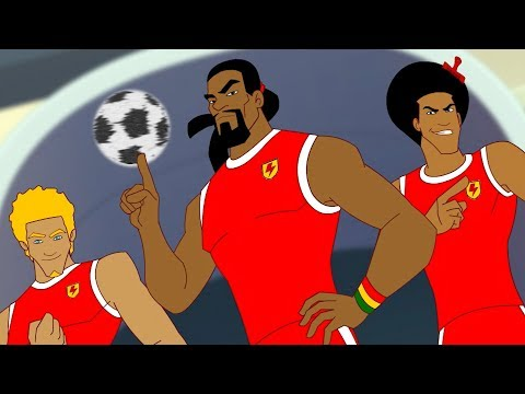 Supa Strikas | Bringing Down The House | Soccer Cartoons for Kids | Sports Cartoon