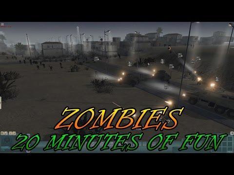 Men of War Assualt Squad 2 - Red Rising Mod - Zombies - 20 Min of Fun!