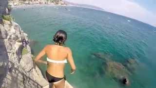 Vietri Sul Mare Italy  City pictures : Vietri sul mare tuffi dallo scoglione estate 2015