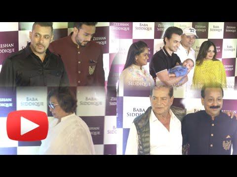 Salman Khan FULL Family At Baba Siddiqui's Iftaar