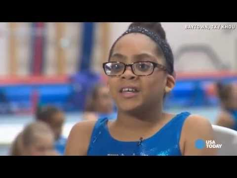 Video 11-year-old blind gymnast aims for Olympics download in MP3, 3GP, MP4, WEBM, AVI, FLV January 2017