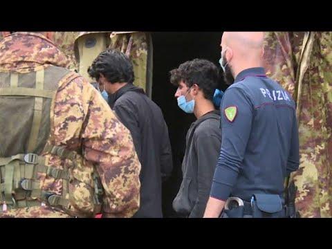 Αφίξεις μεταναστών στην Ιταλία παρά την πανδημία