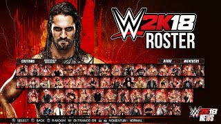 WWE 2K18 Roster - All Superstars, New Additions, Cuts, Roster Probabilities! [#WWE2K18 News]...Hit The LIKE! 👍🏼 & Turn ON Notifications🛎TheSmackDownHotel Article ►https://goo.gl/KJ5dRi► Follow Me!• Twitter - https://twitter.com/MachoT_YT💪 JOIN ME! HELP ME REACH ➡️  50,000 ⬅️ SUBSCRIBERS!SUBSCRIBE! For WWE 2K Games + WWE News & Rumors!In this video I have News coverage of WWE 2K18, the next WWE Game...Join Me to be UPDATED on all News/Rumors/Info, & Announcements heading into the release of the game!► Popular Playlist! WWE 2K18 News Playlist:•https://goo.gl/AUesTnChannel Description:• All Things WWE & WWE 2K Games. Multiple News & Rumors Round-Up Episodes throughout the week, keeping you guys up to date on all the News & Rumors in Wrestling, leading up to Raw, Smackdown, NXT, & PPVs like Wrestlemania! Also WWE 2K17 Content & Upcoming WWE 2K Games, WWE 2K18 News!►For WWE News/Rumors & WWE 2K18 Content, Updates, & Tutorials • SUBSCRIBE! - https://www.youtube.com/c/DRsMachoTThank You For Watching!- Macho T