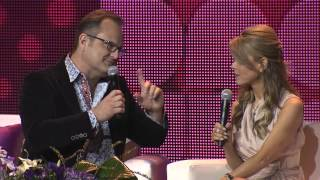 Marcos Witt Y Myrka Dellanos En Festival People 2013