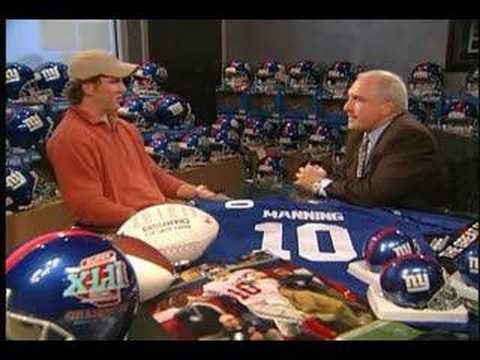 Interview – Eli Manning (Post Super Bowl)