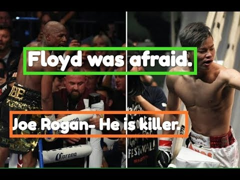Joe Rogan on Floyd Mayweather backing out of fight against Tenshin Nasukawa.